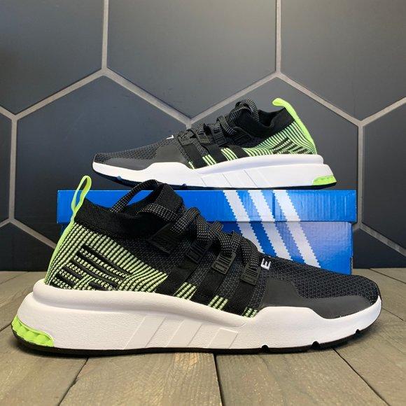 Adidas EQT Support Mid ADV Primeknit Black Volt